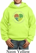 Autism Shape of My Heart Kids Hoodie