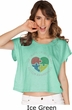 Autism Shape of My Heart Ladies Boxy Tee