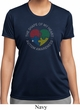 Autism Shape of My Heart Ladies Dry Wicking T-shirt