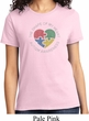 Autism Shape of My Heart Ladies T-shirt
