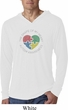 Autism Shape of My Heart Lightweight Hoodie