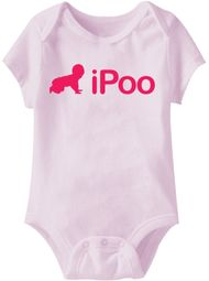 Baby Funny Romper IPOO Infant Pink Babies Creeper