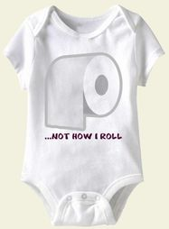 Baby Funny Romper Roll Infant White Babies Creeper