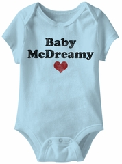 Baby McDreamy Funny Baby Romper Light Blue Infant Babies Creeper