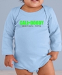 Baby Romper Shirt Doody Calls Infant Green Logo Long Sleeve Creeper
