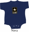 Baby US Army Small Print Romper