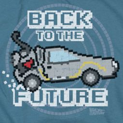 Back To The Future 8 Bit Future Shirts