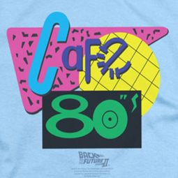 Back To The Future Cafe 80's Shirts