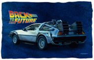 "Back to the Future ""DeLorean"" Fleece Blanket - 36"" X 58"""