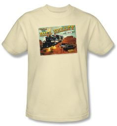 Back To The Future III Kids T-shirt Movie Hill Valley Postcard Cream