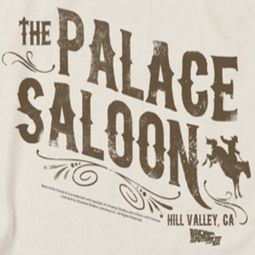 Back To The Future III Palace Saloon Shirts