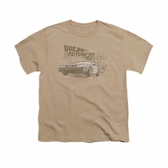 Back To The Future III Shirt Kids Cowboys And Indians Sand Youth Tee T-Shirt