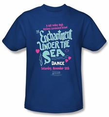 Back To The Future Kids T-shirt Movie Under The Sea Royal Shirt Youth