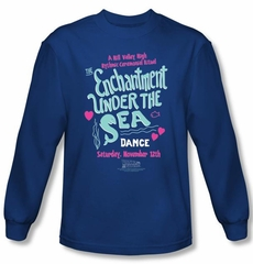 Back To The Future Long Sleeve T-shirt Movie Under The Sea Royal Shirt