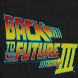 Back To The Future Part 3 Logo Shirts
