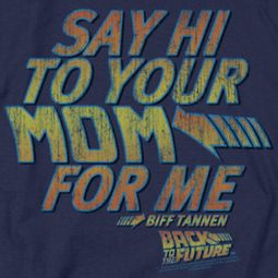 Back To The Future Say Hi Shirts
