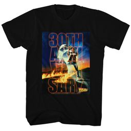 Back To The Future Shirt 30th Anniversary Black T-Shirt