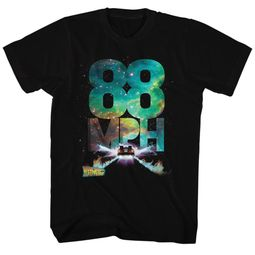 Back To The Future Shirt 88 MPH Black T-Shirt