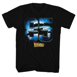 Back To The Future Shirt Eighty Five Black T-Shirt