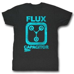 Back To The Future Shirt Flux Capacitor Black T-Shirt