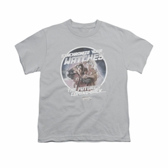 Back To The Future Shirt Kids Synchronize Watches Silver Youth Tee T-Shirt