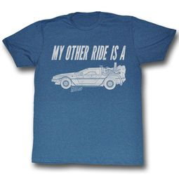 Back To The Future Shirt My Other Ride Adult Blue Tee T-Shirt