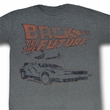Back To The Future Shirt My Other Ride Adult Grey Tee T-Shirt