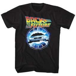 Back To The Future Shirt Out Of Time Black T-Shirt