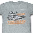 Back To The Future Shirt See You Adult Heather Grey Tee T-Shirt