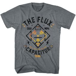Back To The Future Shirt The Flux Capacitor Black T-Shirt