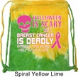 Bag Halloween Scary Breast Cancer Deadly Tie Dye Bag