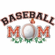 Baseball Mom Sport Adult T-shirt Tee Shirt