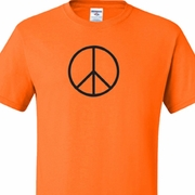 Basic Peace Black Mens Shirts