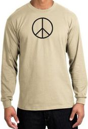 Basic Peace Long Sleeve T-shirts