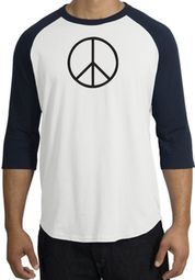 Basic Peace Raglan T-shirts