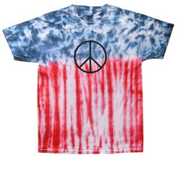 Basic Peace Tie Dye T-shirts