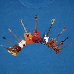 Bass Guitar Instruments Long Sleeve Shirt - Adult