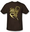 Batgirl Kids T-shirt - DC Comics Flying Batgirl Brown Youth