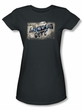 Batman Juniors T-Shirt Arkham City Greetings From Arkham Charcoal Tee