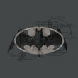 Batman Kids T-Shirt - Arcane Bat Logo Youth Charcoal Grey Tee
