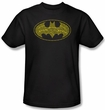 Batman Kids T-Shirt - Batman Type Logo Youth Black Tee