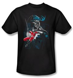 Batman Kids T-Shirt - Black And White Youth Black Tee