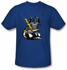 Batman Kids T-Shirt - By Air & By Land Youth Royal Tee