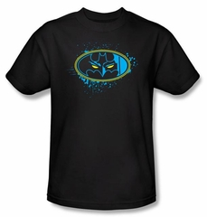 Batman Kids T-Shirt - Eyes In The Dark Youth Black Tee