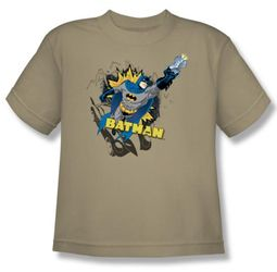Batman Kids T-Shirt - Heroic Youth Sand Tee