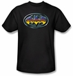 Batman Kids T-Shirt - Hot Rod Shield Youth Black Tee