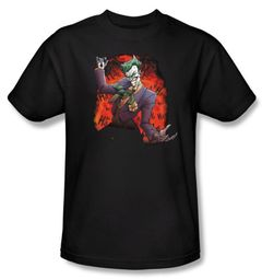 Batman Kids T-Shirt - Joker's Ave Youth Black Tee