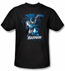 Batman Kids T-Shirt - Justice League Youth Black Tee