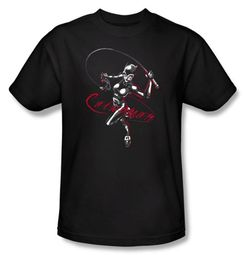 Batman Kids T-Shirt - Kitten With A Whip Youth Black Tee