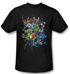 Batman Kids T-Shirt - Saints And Psychos Youth Black Tee